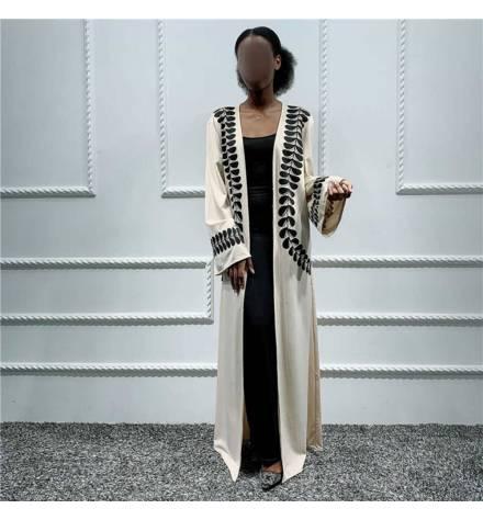 'MSAYFA' BEIGE KIMONO MODEL