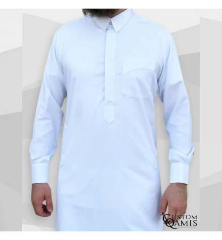 Qamis Classic Blanc by Custom qamis