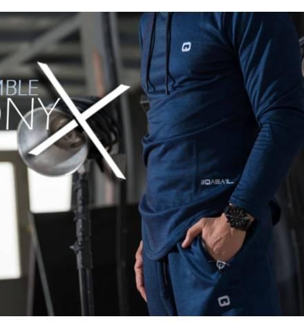 ONYX TRACKSUIT SET QABA'IL - BLUE INDIGO MODEL